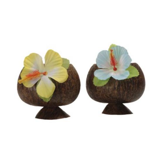 Hawaii kókuszdió formájú műanyag bögre két színben